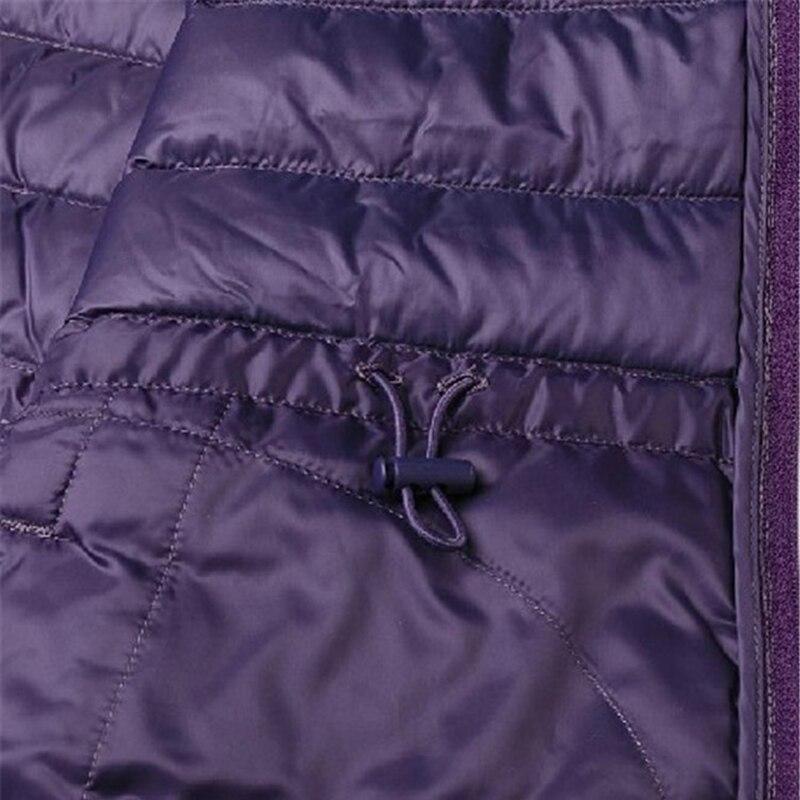 Femmes 2018 D'hiver Le Survêtement Manteau Nouveau Duvet Femelle De Mfc001 Mince Veste Lumière Bas Vers À Canard Capuchon Blanc RxR5qn4