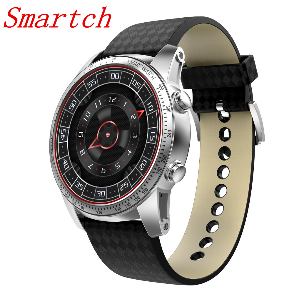 цена на EnohpLX KW99 Smart Watch Android 5.1 Wrist Phone MTK6580 512MB + 8GB Support SIM card GPS WiFi Smartwatch For Android IOS