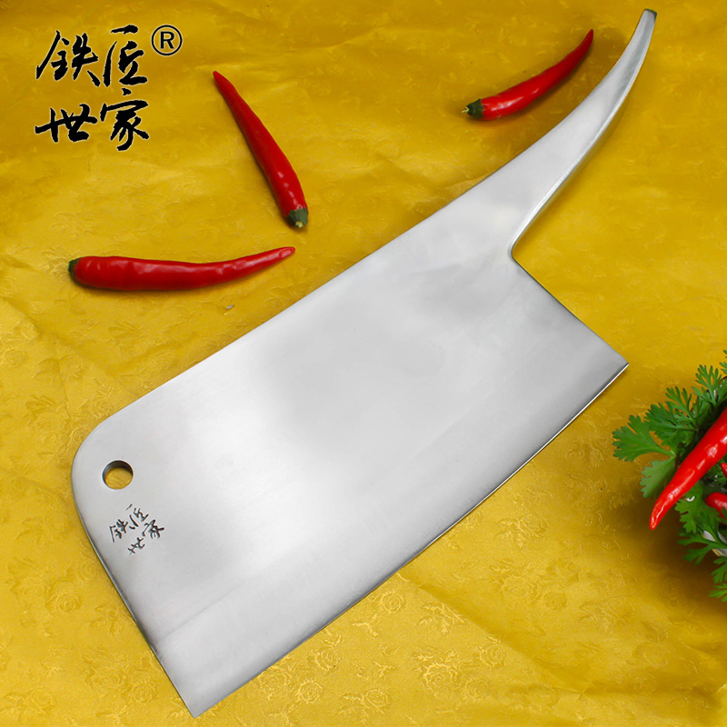 Boning Slicing Knives stainless steel cleaver knife handmade forged chop bone fish meat vegetable kitchen knives ножи in Kitchen Knives from Home Garden