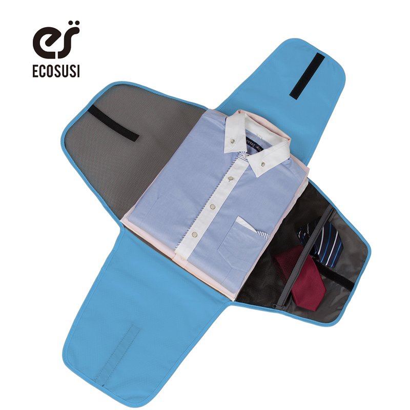 ECOSUSI Luggage Travel Gear Garment Folder Business Shirt Packing Organizers Travel Accessories For Business Organizer For
