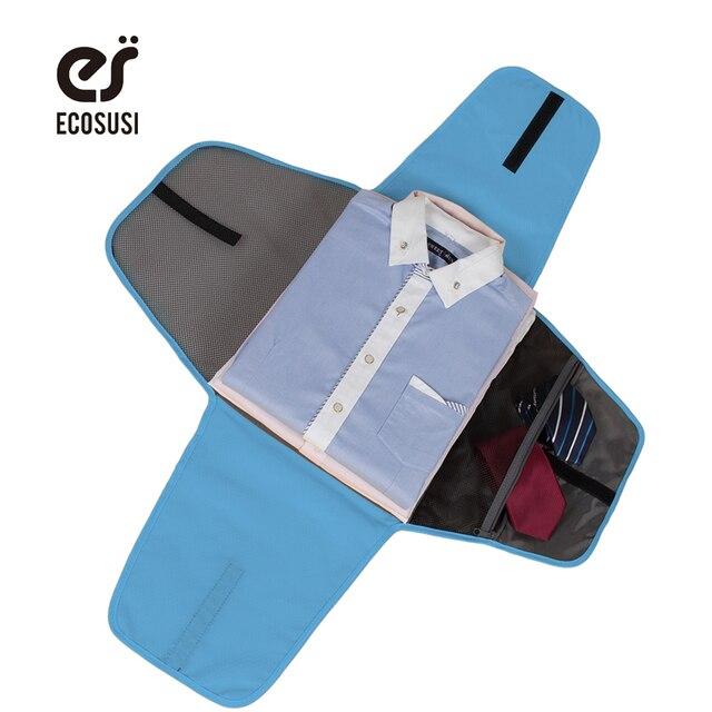 Ecosusi Чемодан путешествия Шестерни одежды папку Бизнес рубашка Упаковка Организаторы Туристические товары для Бизнес органайзер для Галстуки