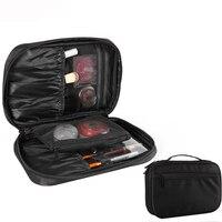 ALYMLHBrand Waterproof Cosmetic Bag Women Travel Storage Professional Organizer Beauty Makeup Brush Set Sort Out Tools