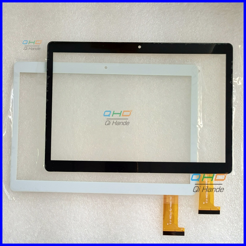 White/Black New Capacitive touch screen panel For DH-1069A4-PG-FPC264-V1.0 FHX Tablet Digitizer Sensor Free Shipping for sq pg1033 fpc a1 dj 10 1 inch new touch screen panel digitizer sensor repair replacement parts free shipping