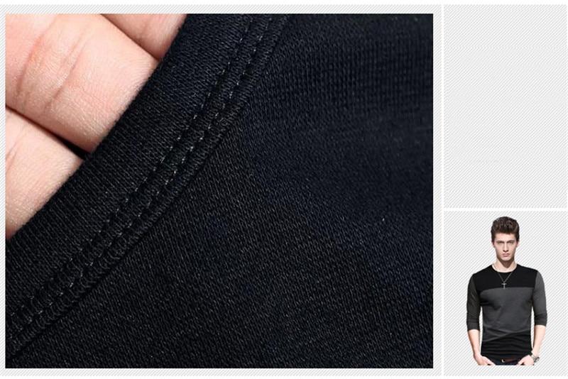 Men's Korean Long Sleeve T-Shirt