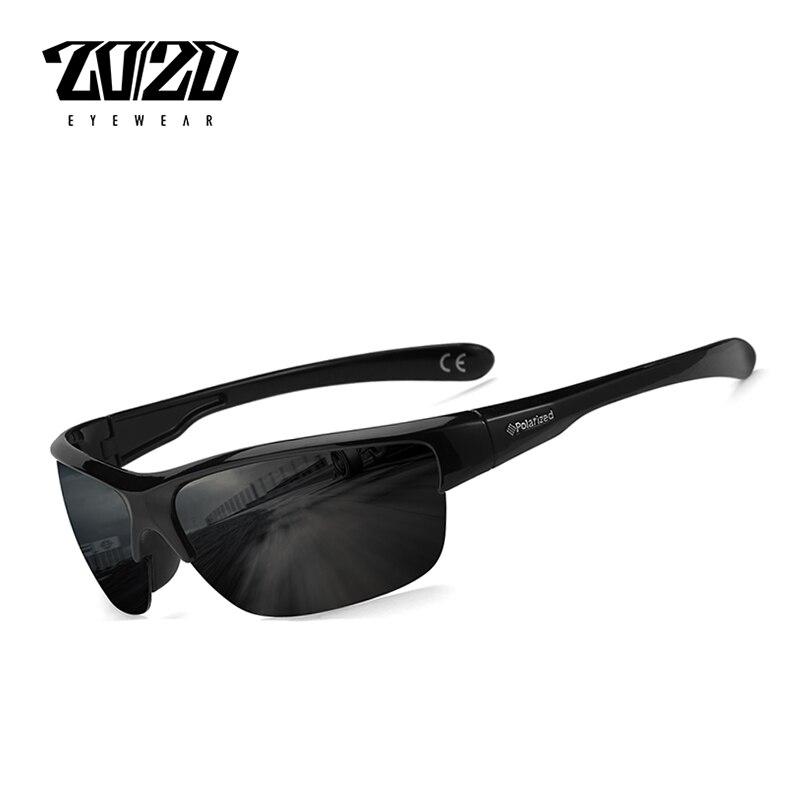 20/20 marke Design Klassische Schwarz Polarisierte Sonnenbrille Männer Vintage Platz Objektiv Sonnenbrille Männlich Fahren Brillen Gafas PL289