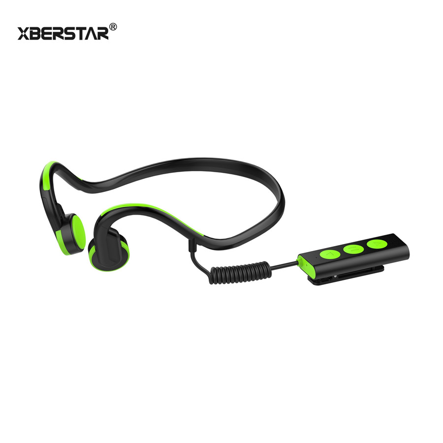 Waterproof Sports DriverBluetooth Earphone Ear Free Bone Conduction Headphone Bluetooth Wireless Stereo Vibrator Headset cap top cap station for epson stylus 7600 9600 solvent based ink printer capping