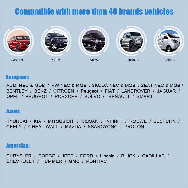 MT401 Adjust Odometer Correction Tool OBD2 Scanner Clean Mileage Adjustment  Car Diagnostic Tool Dashboard Reset OBDPROG