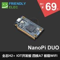 H2+ IOT Development Board Running UbuntuCore for Small NanoPi Duo Electronic Board