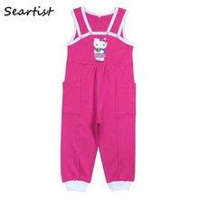 4635a2013 Sertista bebé niña niño ropa de niñas Hello Kitty pantalones recién nacido  Monos Bebé overoles bebé