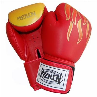 Fiery style MMA/Muay Thai boxing gloves training mitts&Q5