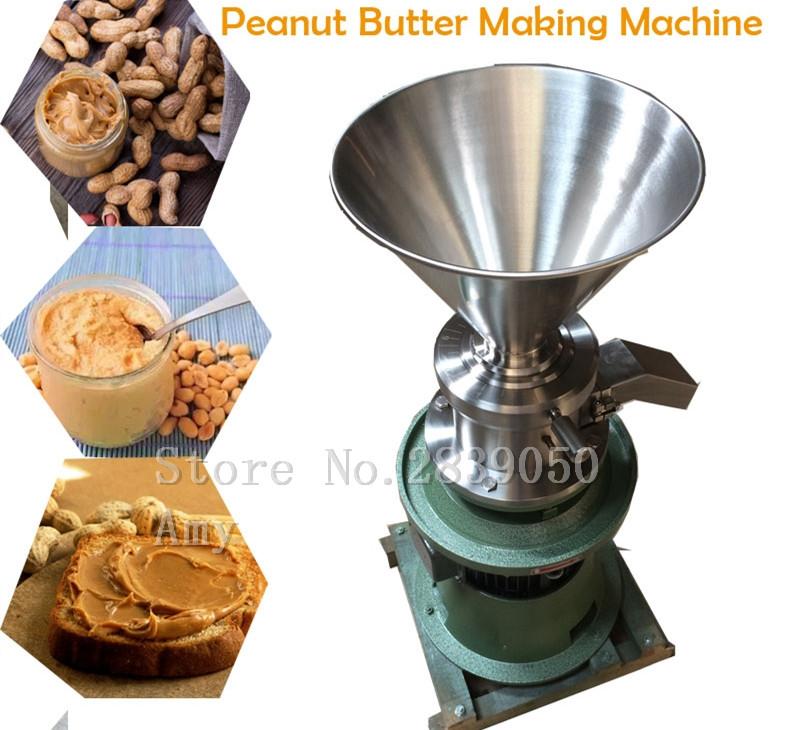 HTB1gWbvb3DD8KJjy0Fdq6AjvXXar - Home and Business Split Type Colloid Mill Multifunctional Peanut Butter Machine Tahini Soybean Chili Sauce Making Machine