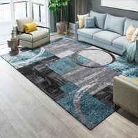 Nordic Abstract Carpet Living Room Home Printing Bedroom Rug Sofa Coffee Table Floor Mat Non slip Absorbent Polyester Area Rug