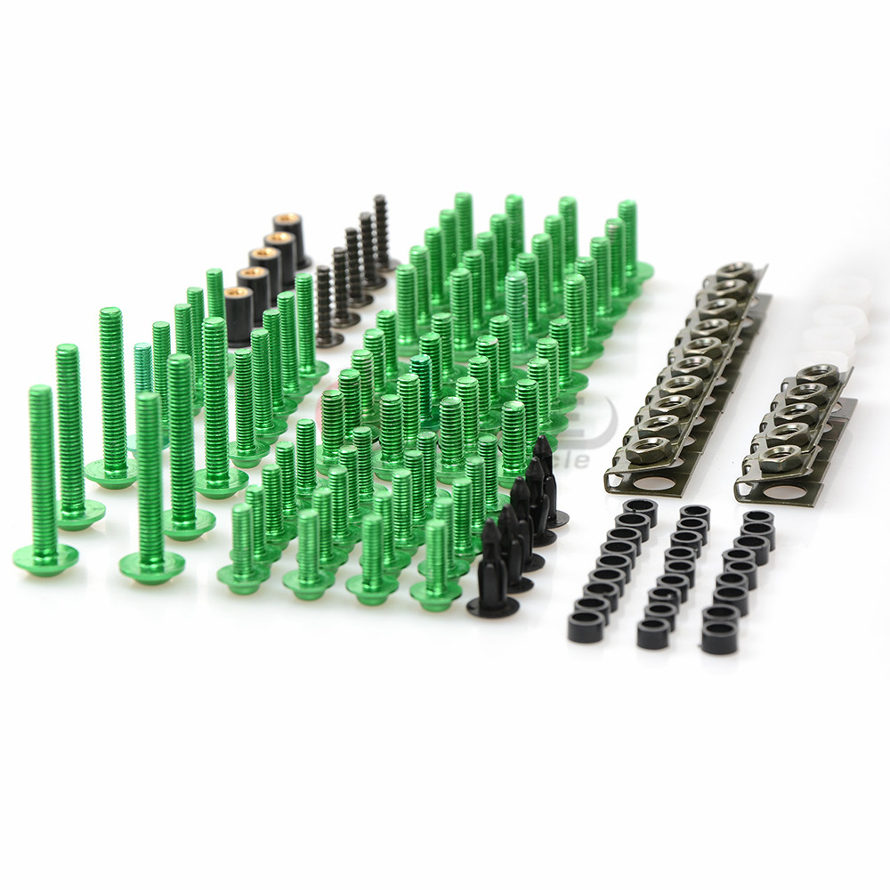 for Aluminum Motorcycle Fairing Bolt Screw Fastener Fixation Modified Universal For KAWASAKI Z 1000 Z1000SX ZX-10R Z750R Motorcy
