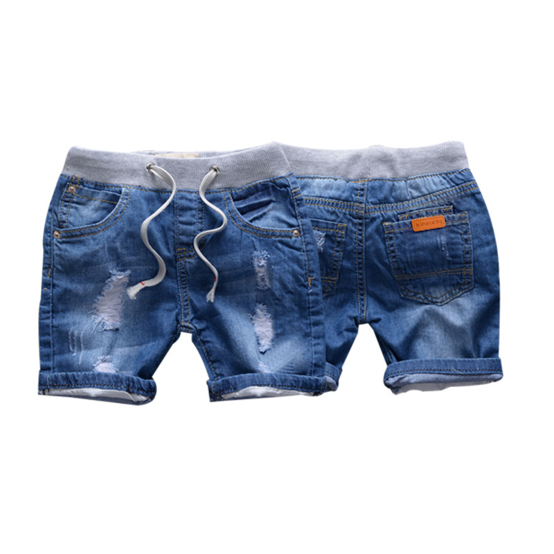 9c1591d21f New fashion toddler boy jeans casual short pants for the boy cartoon KID  shorts summer kids