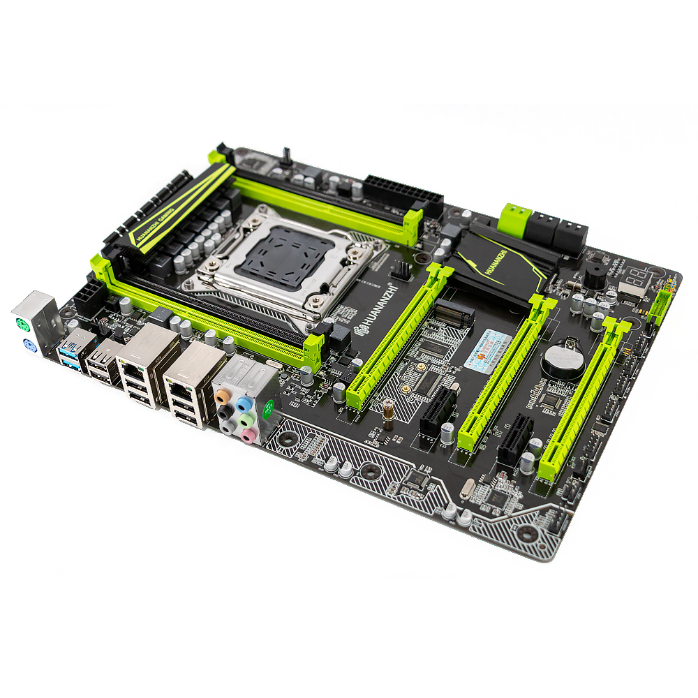 Image 3 - HUANAN ZHI X79 PLUS Motherboard X79 For Intel LGA 2011 E5 2660V2 2680V2 DDR3 1333/1600/1866MHz 64GB M.2 PCI E NVME ATX Mainboard-in Motherboards from Computer & Office