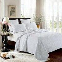100% cotton On Sale 3 PCS Bed Sheets Duvet Cover queen Size Linens Colcha De Cama Bedspread No Cotton Comforter