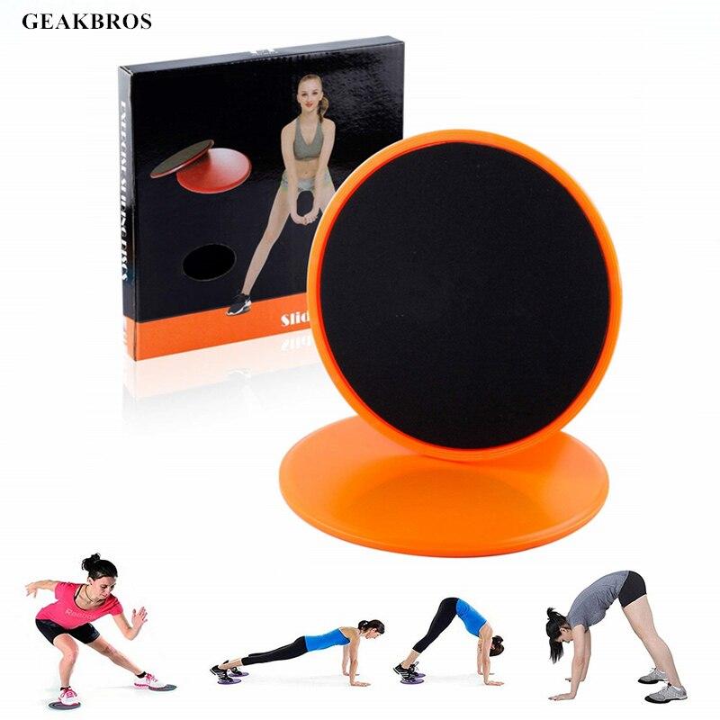 1 Paar Fitness Zweefvliegen Discs Gym Slider Fitness Disc Oefening Core Slider Cross Training Abdominale Workout Schuiven Disc Esthetisch Uiterlijk