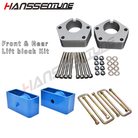 HANSSENTUNE 2.5 Front Ball Joint Spacers and 2 Rear Lift block Leveling Lift Kit for Hilux Surf IFS 1986 2004
