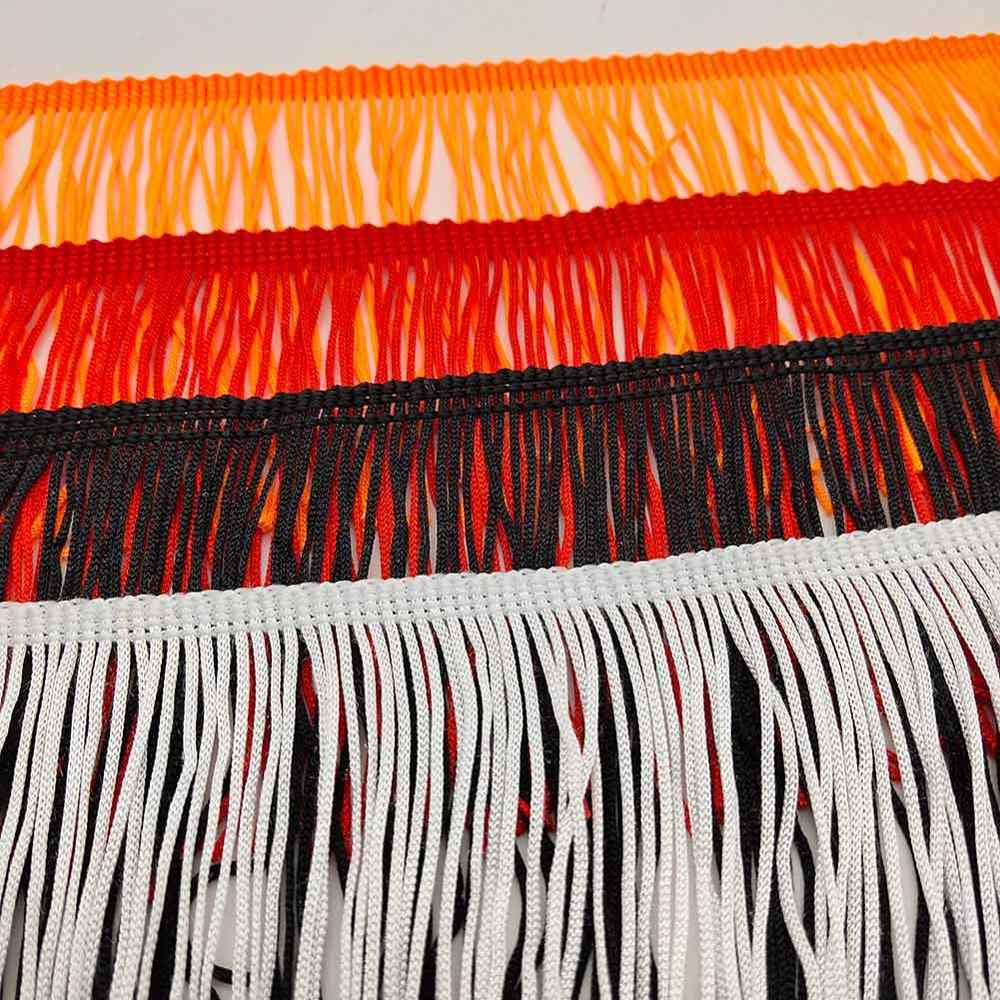 Новая 10 см широкая кружевная бахрома отделка отделочная кисточка для латинских платьев сценическая одежда кружевные аксессуары лента кисточка