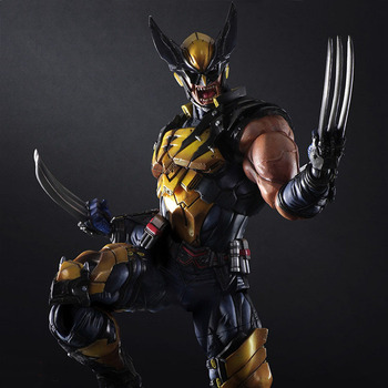 NEW hot 26cm wolverine X-Men Enhanced version action figure toys collection doll with box