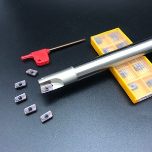 Image 2 - 10PCS APMT1135 M2 + 1PCS 16mm כרסום קאטר 300R C16 16 150 2T קשה CNC כרסום קאטר כרסום כלי קרביד הכנס מחרטה חותך