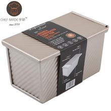 Chef Made Kitchen Accessories Toast Box With Lid Mold Cake Bread Baking Oven Household Non-stick Pan Low Prices And Good Faith
