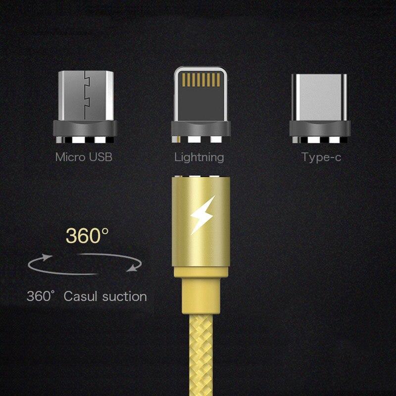 Magnetische usb-kabel ladegerät draht tragbare 2.0A lade für telefon adapter quick charge 3,0 ayfony schnelle moblie iphone 8 samsung S8