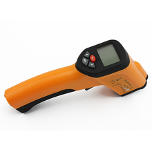 Wholesale prices XINTEST HT-6885 Non-Contact High Temperature Backlight LCD display professional instruments Infrared Thermometer