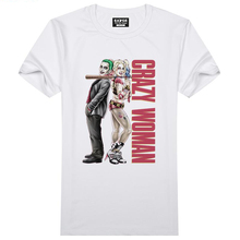 Suicide Squad T Shirt Harley Quinn T-shirt Joker Cool Novelty Funny Hip Hop Pop Tshirt Style Men Women Printed Fashion tees