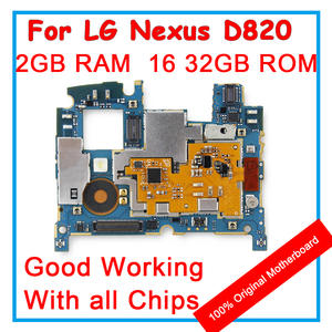 For LG Google Nexus 5 D821 D820 Unlocked Motherboard 16 GB 32 GB ROM Mainboard With