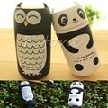 Cute Panda & Сова термос 220 мл Нержавеющей Стали Вакуумные Чашки легкий и портативный дети бутылки воды бесплатная доставка