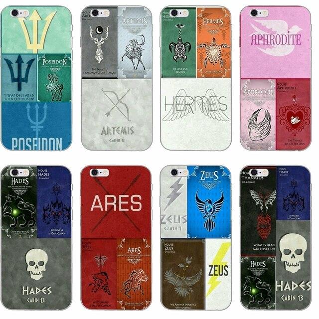 pretty nice 7e30c 4c267 fashion Percy Jackson Heroes slim Soft phone case For iPhone 4 4s 5 5s 5c  SE 6 6s plus 7 7plus 8 8plus X