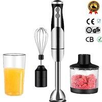 800W Electric Stick Blender Mixer Hand Blender Egg Whisk Mixer Juicer Meat Grinder