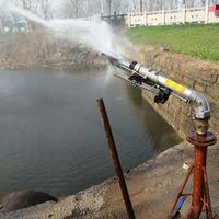 S102 Big Rain gun Irrigation With 360 Gear Drive Big Spray Distance
