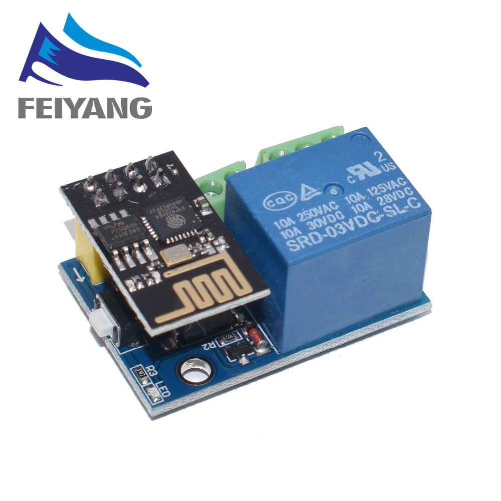 ESP8266 ESP-01/01S 5V WiFi Relay Module Things Smart Home Remote Control Switch Phone APP ESP01 ESP-01 Wireless WIFI Module