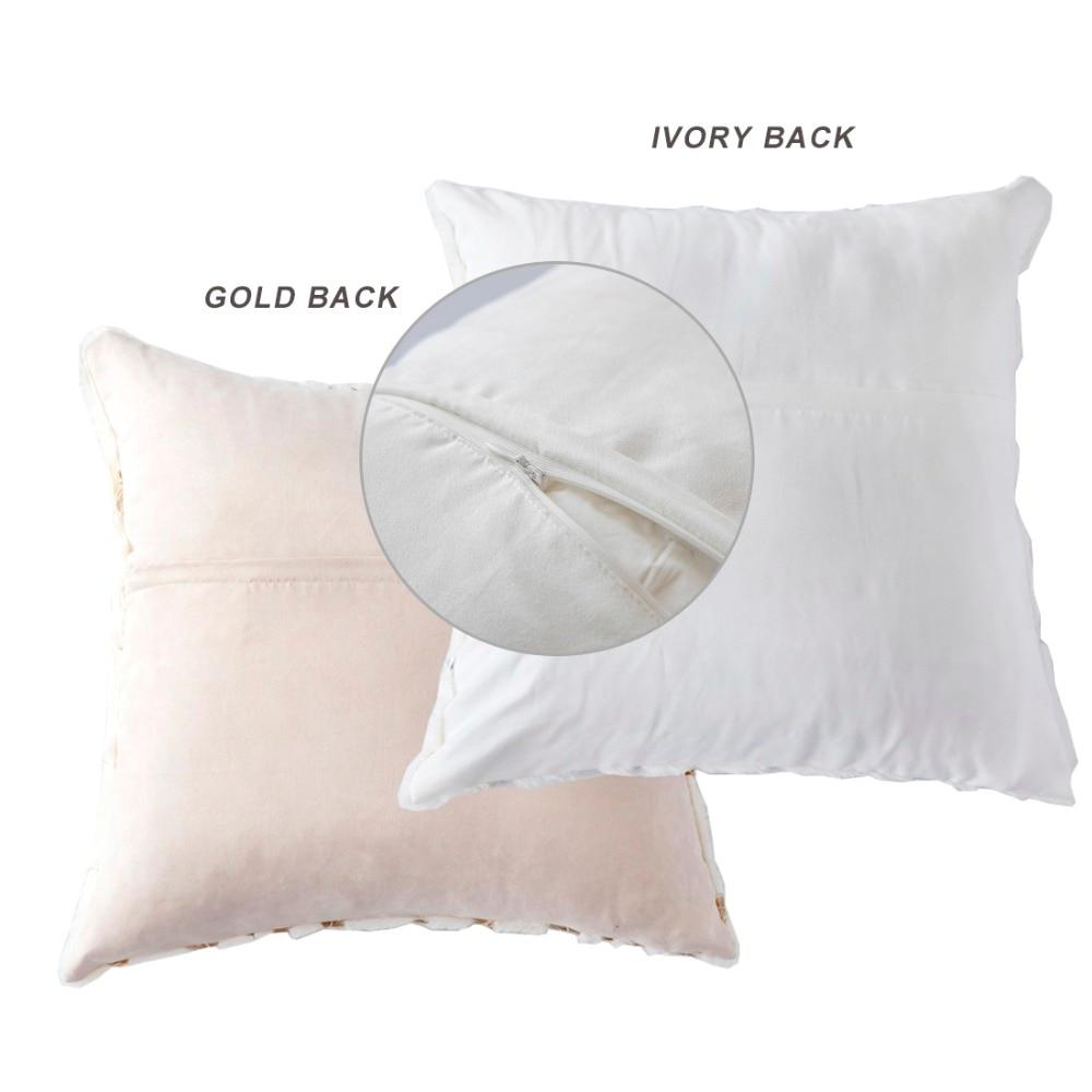 6be4c76ad706 קנו טקסטיל לבית | GIGIZAZA Fur Plush Cushion Pillow Covers Gold ...
