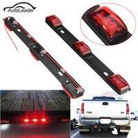 1Pc LED Car Tail Light Truck Trailer 14 Red Universal 3 LED Light Lamp Bar For