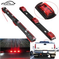 1Pc LED Car Tail Light Truck Trailer 14 Red Universal 3 LED Light Lamp Bar For