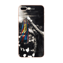 Ultrathin Messi Silicone Case for iPhone