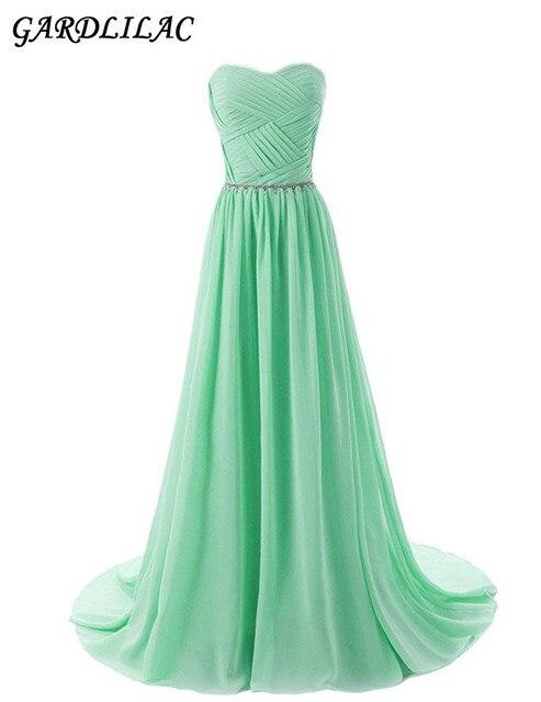 Aliexpress Buy Mint Beach Chiffon Bridesmaid Dresses Plus Size