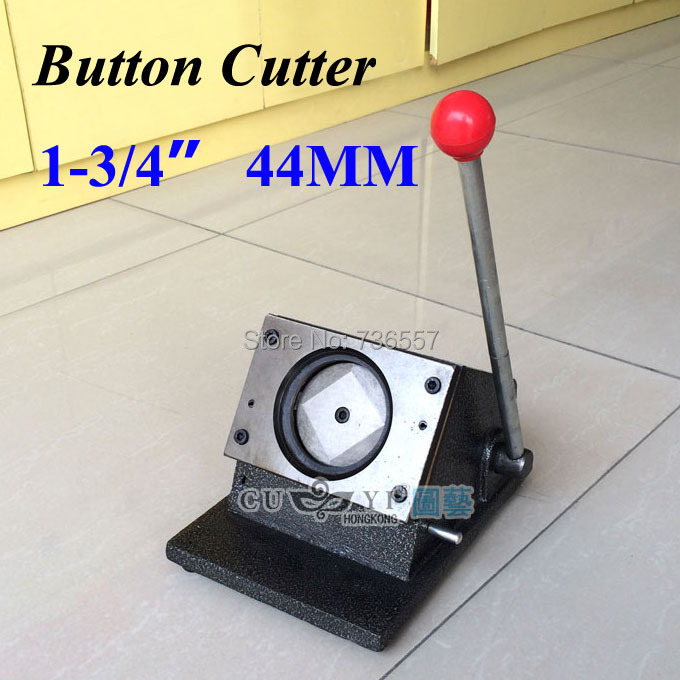 """1-3/4"""" 44mm NEW Heavy Duty Manual Multi Sheets Stand Paper Graphic Punch Die Cutter for Pro Button Maker"""