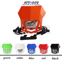 New universal Dual Sport Motorcycle Headlight Dirt Bike Head Lamp Motocross for HONDA XR CRF 150 230 250 450