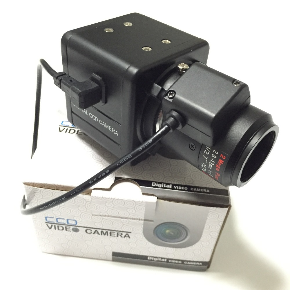 1/3inch Sony CCD 700TVL 2.8-12mm auto IRIS Lens Security OSD Box Camera