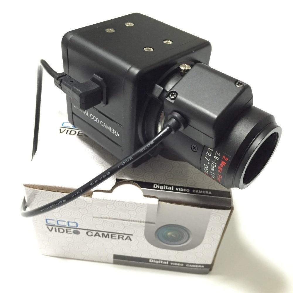 1/3inch Sony CCD 700TVL 2.8-12mm auto IRIS Lens Security OSD Box Camera