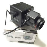 1/3inch Sony CCD 700TVL 2.8 12mm auto IRIS Lens Security OSD Box Camera