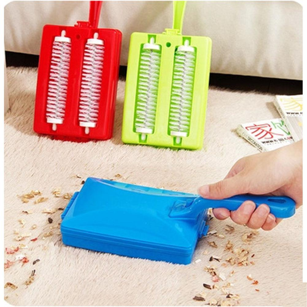Home, Furniture & DIY Cups & Saucers DOUBLE ROLLER CARPET SWEEPER