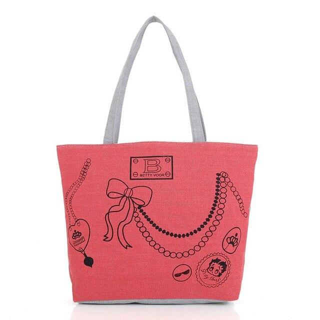 2e1ac9874e33 Hot Casual Women bag Handbag Canvas Shoulder Satchel Messenger Tote ladies  Girl bolsa feminina pouch Clutch