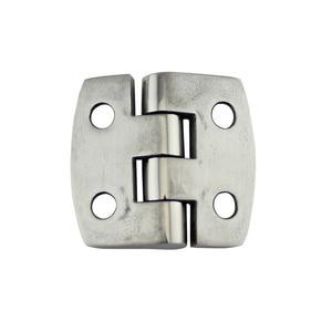 Image 4 - Stainless Steel Marine Hardware Door Butt Hinge Silver Cabinet Drawer Box Hinge Boat Accessories Marine