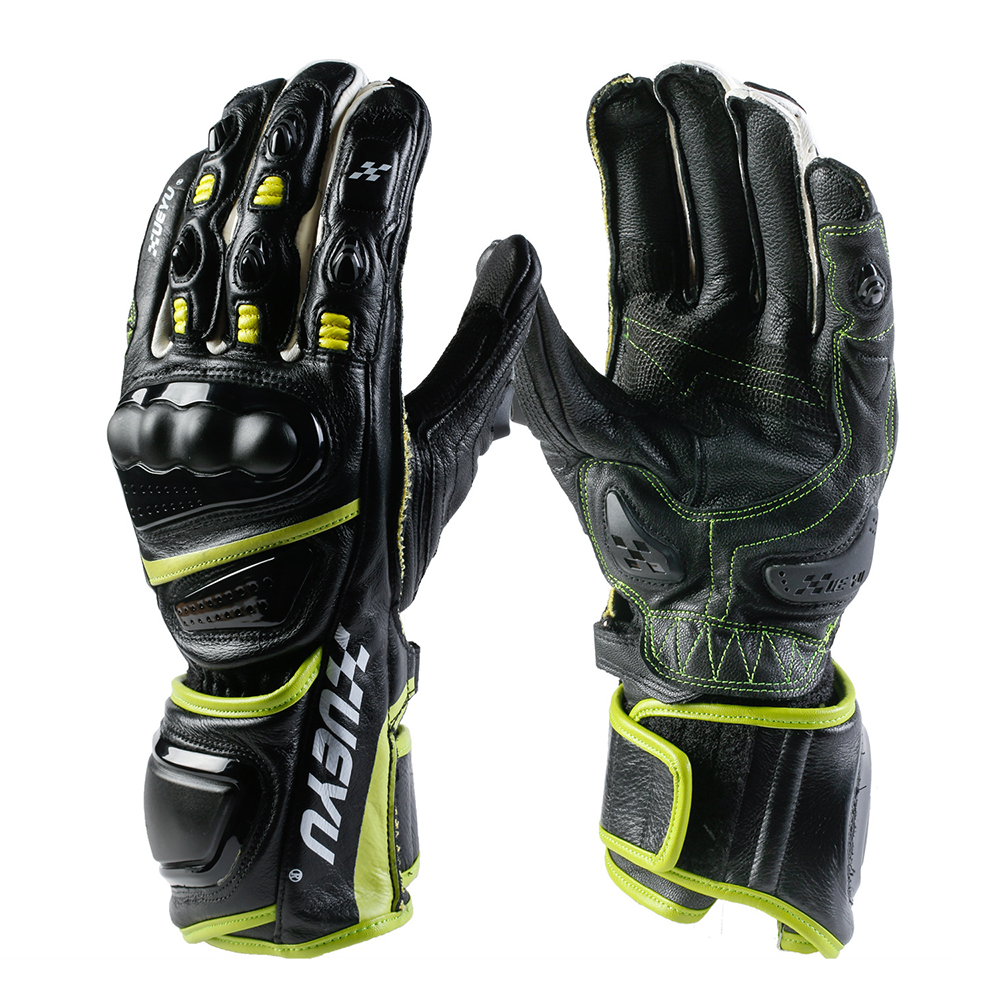 XUEYU professionnel Moto gants en cuir véritable doigt complet Motocross gants Moto Guantes Para Moto