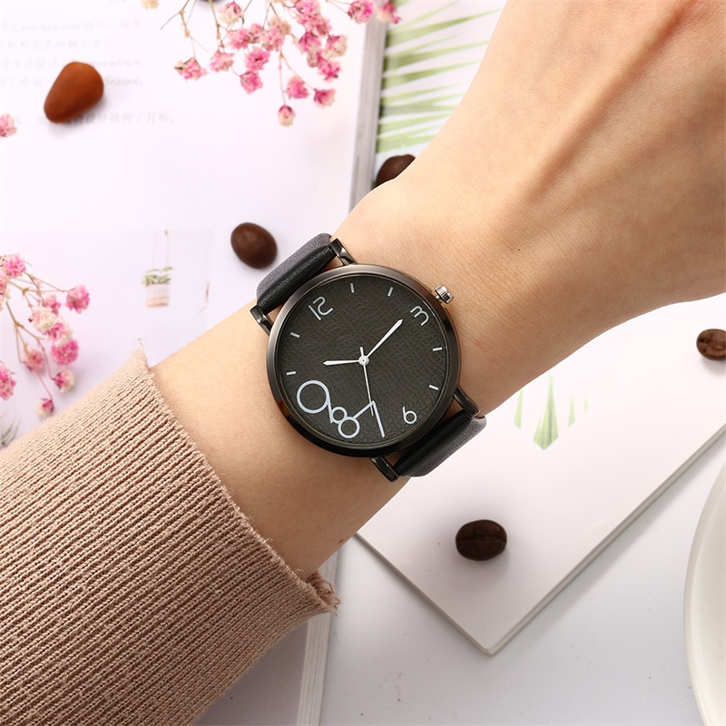 Simple and stylish quartz watch ladies sports leather strap ladies casual watch ladies watch in Women 39 s Watches from Watches